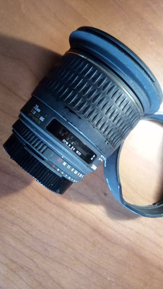 Objetivo Sigma 20 mm f 1.8