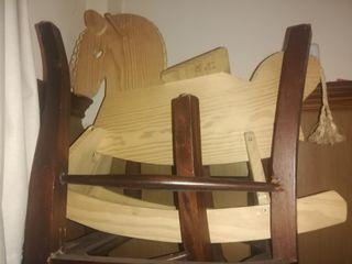 caballito madera balancin