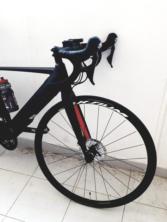 Bicicleta de carretera elèctrica whistler