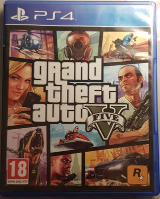 Grand Theft Auto 5 Play Station 4