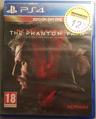 Metal Gear Solid 5 Play Station 4