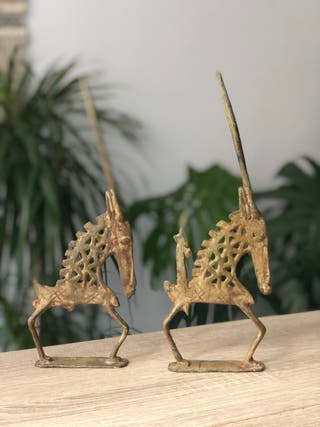Chi Wara bronce