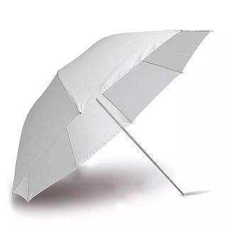 2 Paraguas difusores de luz para fotografía