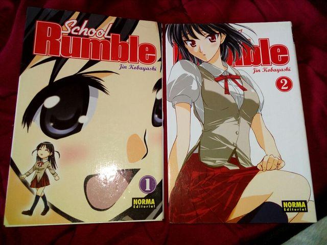 Cómics Manga SCHOOL RUMBLE