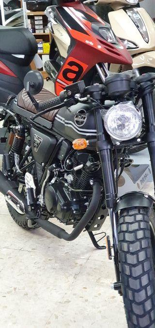 MOTOR HISPANIA BOGGA 125cc .