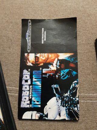 Robocop vs Terminator Mega drive