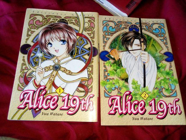 Cómics Manga ALICE 19TH
