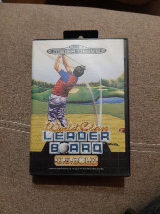 Leader Board Mega Drive