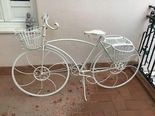 Macetero bicicleta exterior