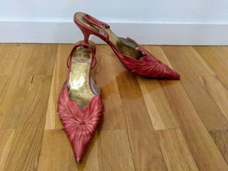 Zapato / Sandalia rojo