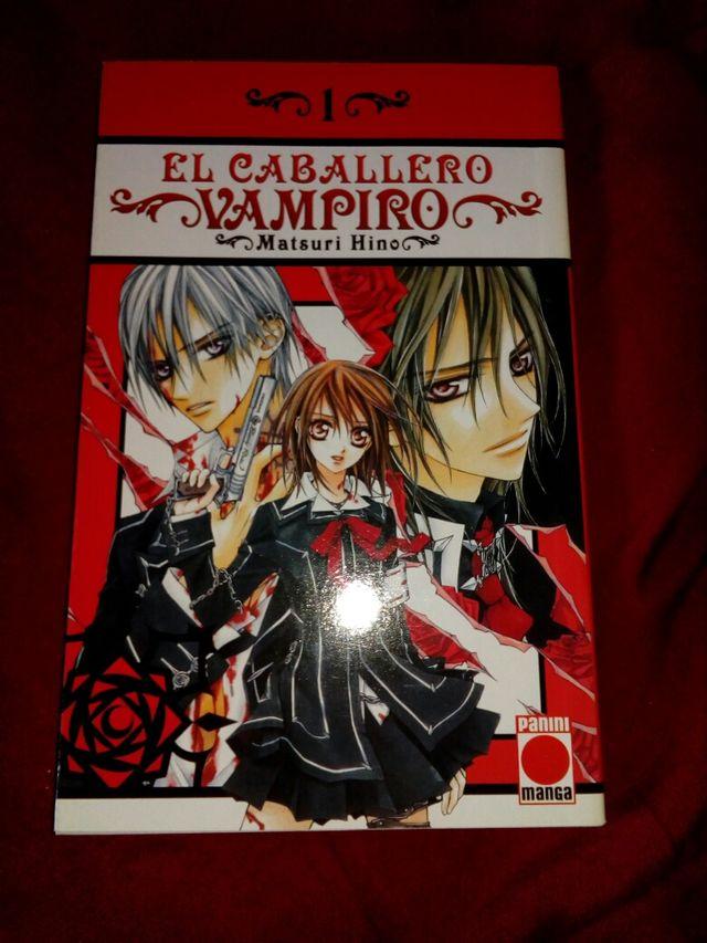 Cómics Manga VAMPIRE KNIGHT (EL CABALLERO VAMPIRO)