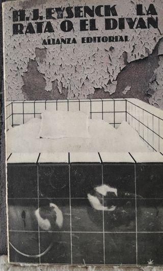 La rata o el divan, H.J. EYSENCK. 1979
