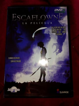 DVD anime Escaflowne la película