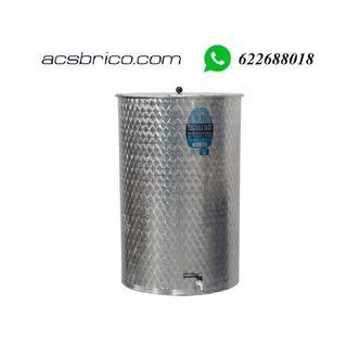 BIDON INOX 316 - 300 LITROS - 64X100