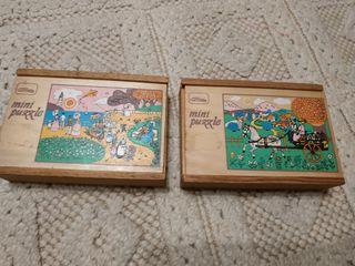 Dos bonitos puzzles