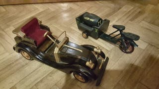 coches de madera