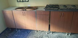mueble y cocina