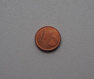 MONEDA DE 1 CENTIMO DE EURO DE ESPAÑA AÑO 2011