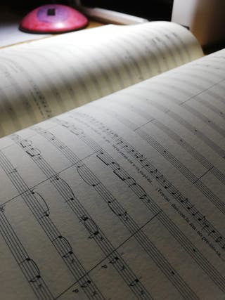 Margot ópera de Joaquín Turina partitura completa