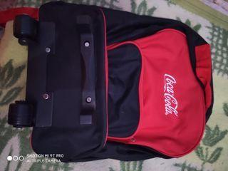 mochila de ruedas Coca-Cola