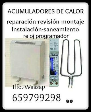 ACUMULADOR CALOR-PUESTA A PUNTO Y REPARACION