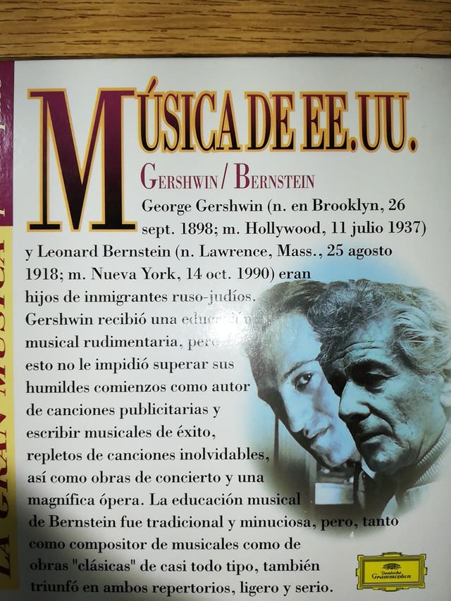 Gershwin y Bernstein (La gran música)