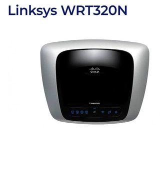 Router neutro Cisco Linksys con DD-WRT