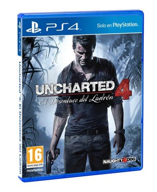 Juego UNCHARTED 4 para PS4