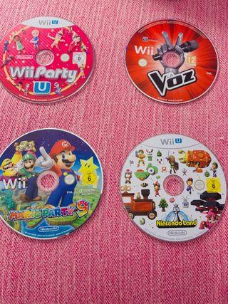 JUEGOS Wii U