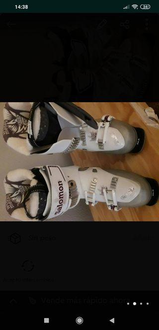 botas Salomón nuevas mujer