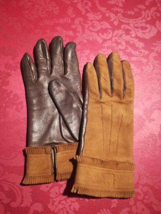 Pareja de guantes Loewe vintage
