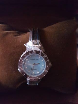 reloj acero chica