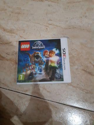 LEGO jurassic world para nintendo 3ds/2ds