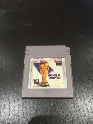 Juego GAME BOY WORLD CUP 98
