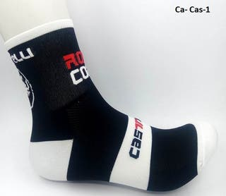 Calcetines ciclismo o running Castelli negros