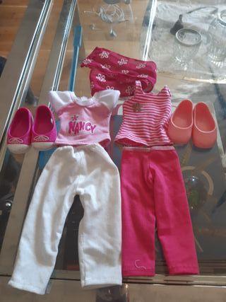 2 conjuntos de ropa Nancy
