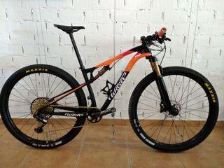 Bicicleta de montaña Wilier 110fx doble suspensión