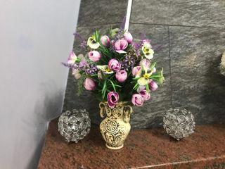 Decoracion de casa con flores