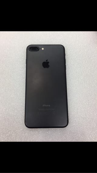 iPhone 7 Plus ACEPTO CAMBIO negro- mate