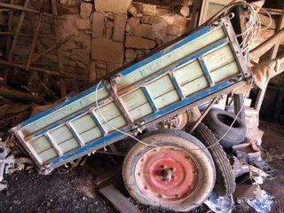 Carro de madera Rigual antiguo