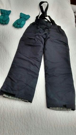 Pantalón esqui mujer