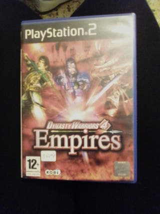 juego dynasty warriors 4 empires