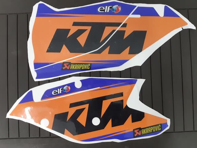 Vinilos para KTM EXC y EXCF
