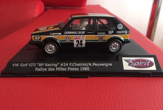Coche scalextric VW Golf Gti Bp Racing
