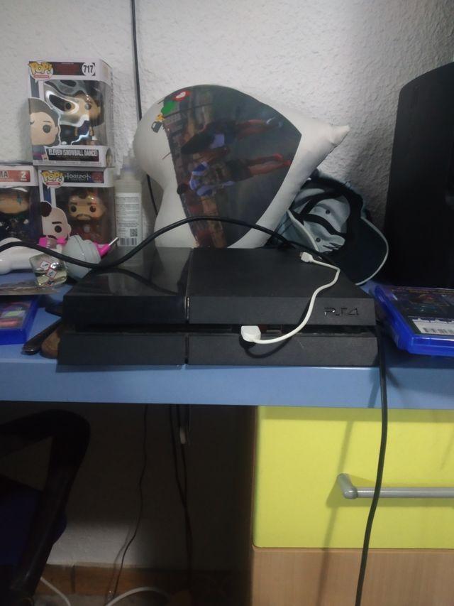 PS4 1tb,fifa 20 con un año de internet