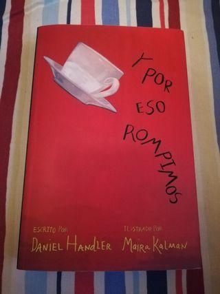 """Novela juvenil """"Y por eso rompimos"""""""