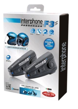 Pareja intercomunicador interphone f3s