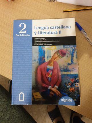 Libro 2 bachillerato Lengua Castellana. algaida
