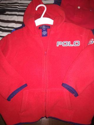 chaqueta chándal Polo Ralph Lauren talla 2