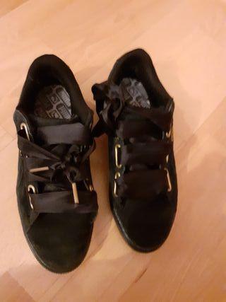 Zapatillas deportivas mujer. Puma Suede